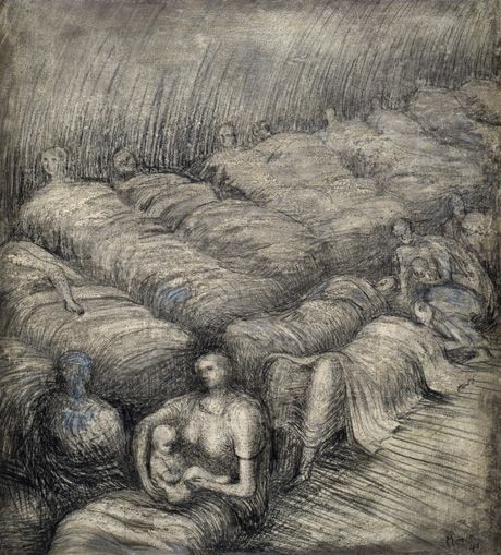 henry moore drawing - Google Search