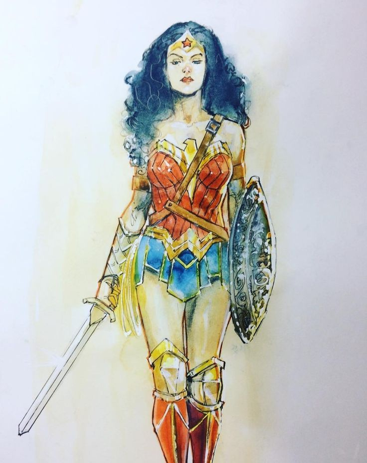 gorgeous Wonder Woman by Rod Reis