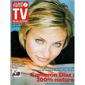 TV Magazine Ouest-France (n°16295) du 19/06/1998 - Cameron Diaz -... [Magazine mis en vente par Presse-Mémoire]