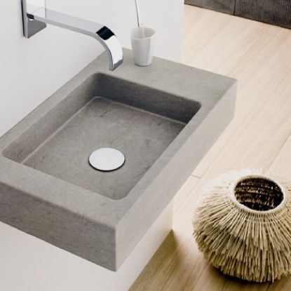 Washbasin Mini square: #bathroom, #washbasins, #stone, #design, #madeinitaly, #naturalstone, #interior, #architecturedesign, #interiordesign, #forniture,