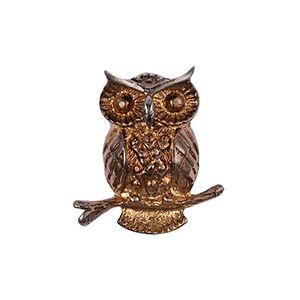 #brooch #bronz brooch #owl brooch #handmade brooch #design by darlring jewelry
