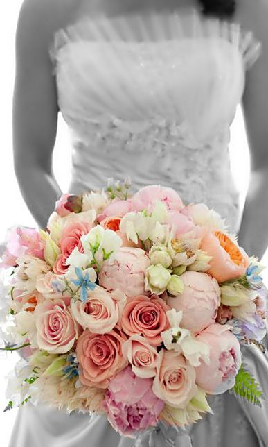 -Wedding ● Bouquet - colorful <3