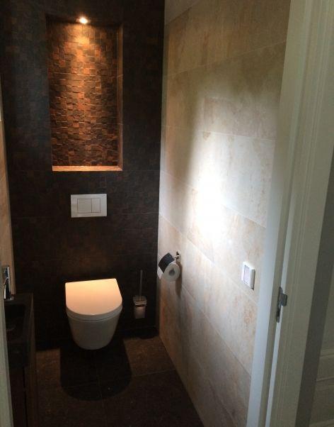 25 beste idee n over bruine tegel badkamers op pinterest - Faience metro wit ...