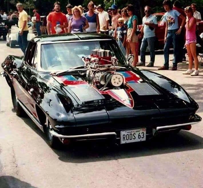 Rod Saboury Blown Pro Street 1963 Corvette 468ci Big Block