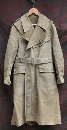 WW1 British army dispatch rider's coat