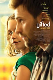 Review of the new movie Gifted starring Chris Evans and Jenny Slate