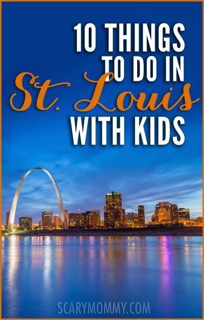 Heading to St. Louis with kids? Ellie was born in St. Louis and raises her two teenagers there. Here, for the Scary Mommy travel guide, she shares ten things she swears even the pickiest kids will love!  summer | spring break | family vacation | parenting advice | Midwest
