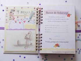 Hola!  Hacer un diario de embarazo siempre resulta emocionante porque será un recuerdo para toda la vida de alguien o mejor de una familia...