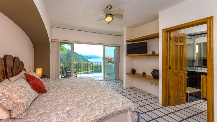 http://www.tropicasa.com/homes-and-villas/Casa-de-Arriba/1012 - This beautiful condo is an excellent option for clients that look for space, traquility, magnificent views and yet be just 15 mins from Downtown. 2bedrooms 2 baths, common pool & pet friendly building......did I say its quiet around here?