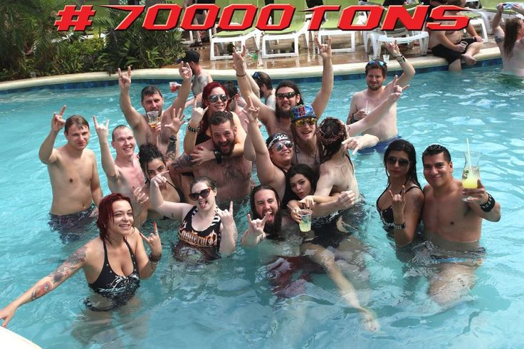 We'll be dropping anchor at our beautiful island beach destination in Labadee soon! How will you be spending your shore day!?  #70000TONS #MetalCruise #Round7