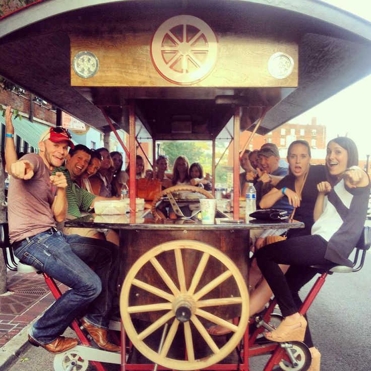 Cruise from Cincinnati bar to bar on a Pedal Wagon pub ...