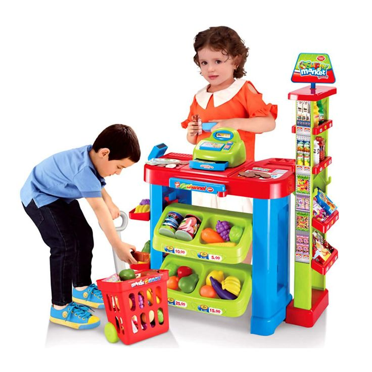Super Mercado Infantil Kit Carrinho De - Americanas.com