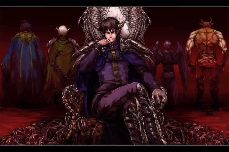 Satan and his generals | hataraku maou sama | Pinterest