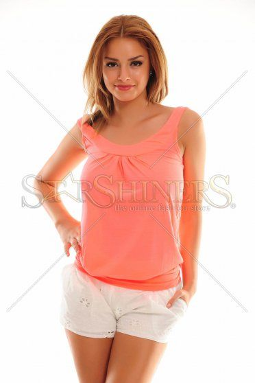 Distinct Essence Coral Top Shirt