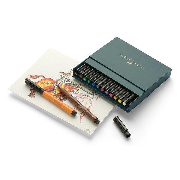 Soft Brush Pen Pitt Artist Faber-Castell 12-pack