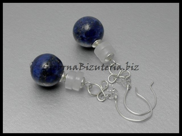 Simple lapis earings for friend