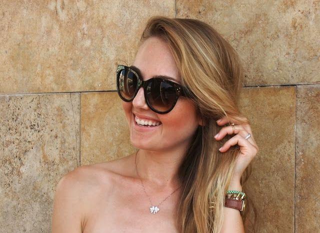 Style & Glaze: Oversize Womens Designer Cat Eye Sunglasses 8814