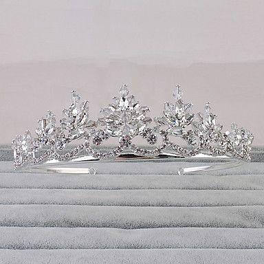 Donne Strass Copricapo-Matrimonio / Formale / All'aperto Tiare 1 pezzo del 5215890 2016 a €16.65