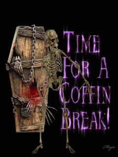 halloween coffin break Mobile Screensavers available for free download.