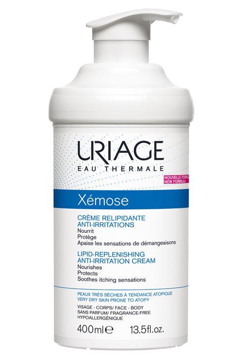 Les nouveaux soins Xémose d'Uriage pour toute la famille Crème Relipidante Anti-Irritation Xémose