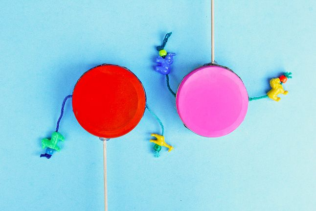 Learn how to make a simple DIY instrument: the classic rattle drum.