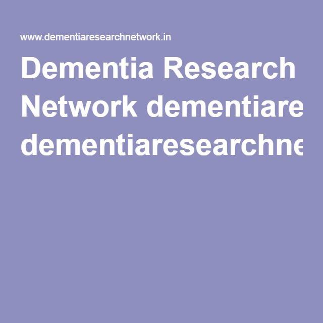 Dementia Research Network dementiaresearchnetwork