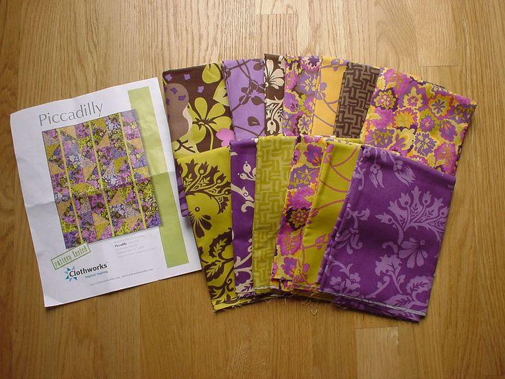 Piccadilly Quilt Kit by Pamela Mostek for Clothworks Fabric    eBay
