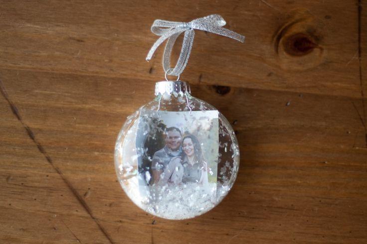 How to make a Christmas Snow Globe Ornament