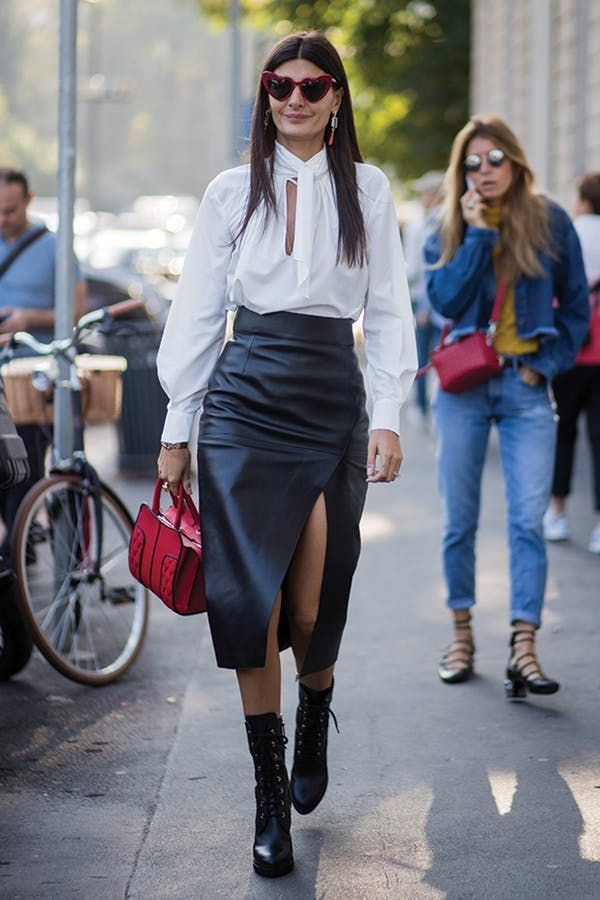 613496b6968 7 Outfit Ideas to Wear With Lace-Up Boots via  PureWow