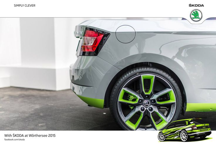 Wörthersee Treffen 2015 is all about style and passion. Perfect opportunity to showcase awesome alloy wheels on ŠKODA cars! 18-inch 'Gemini' alloys from the Octavia RS - ŠKODA Pickup FUNstar #SKODAWoertherse #FUNstar