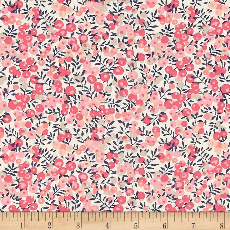 Liberty of London Classic Tana Lawn Wiltshire Pink from @fabricdotcom From the world famous Liberty Of London, this exquisite cotton lawn fabric is finely woven, silky, very lightweight and ultra soft. This gorgeous fabric is oh so perfect for flirty blouses, dresses, lingerie, even quilting. Colors include cream, navy, taupe, tan and shades of pink.