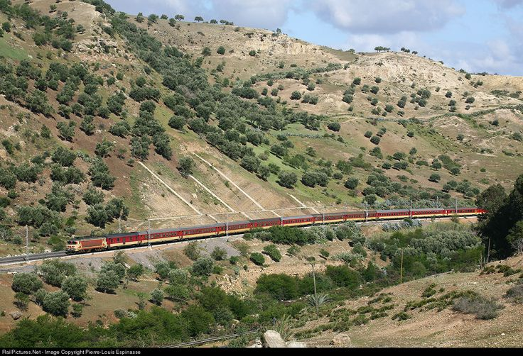 RailPictures.Net Photo: ONCF Alstom E-1300 at Sidi Kacem, Morocco by Pierre-Louis Espinasse