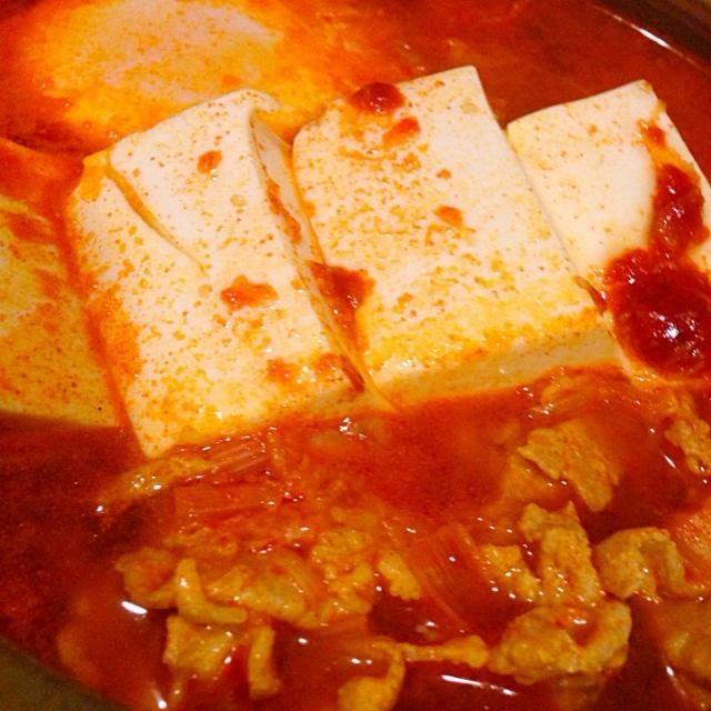 暑い日に限って辛いものが食べたくなるのは不思議(*ゝωб)b - 32件のもぐもぐ - スンドュブチゲ by hamustarmie