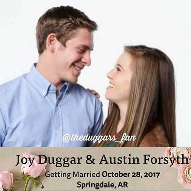 Joy and Austin are getting married on October 28, 2017, which is Joy's 20th birthday