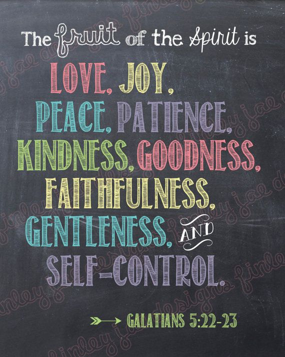 Scripture Printable Fruit of the Spirit by FinleyJaeDesigns