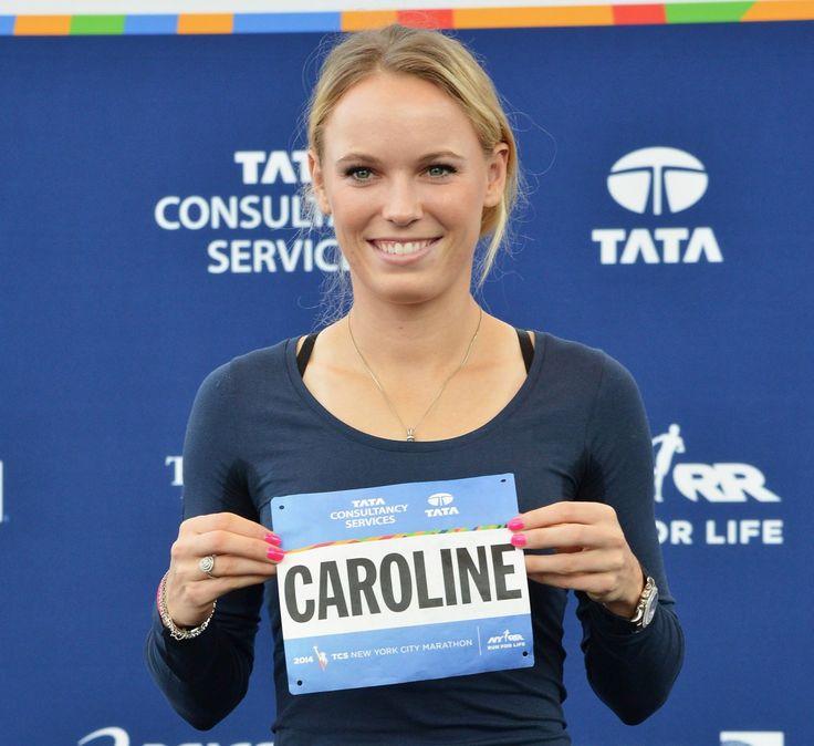 Caroline Wozniacki. Such an inspiring young woman!