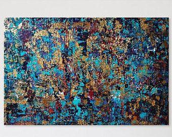 Original Abstract Textured Painting Wall Art от ReneeMendlerArt