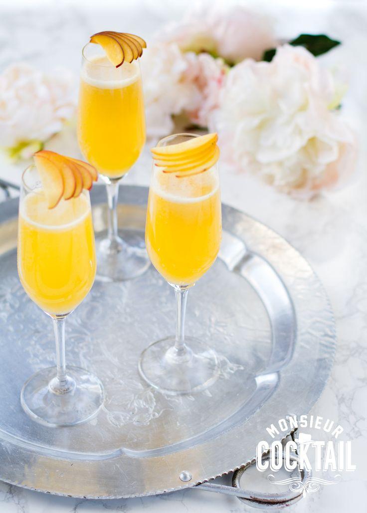 Les 25 meilleures id es de la cat gorie recette de bellini for Cocktail mousseux