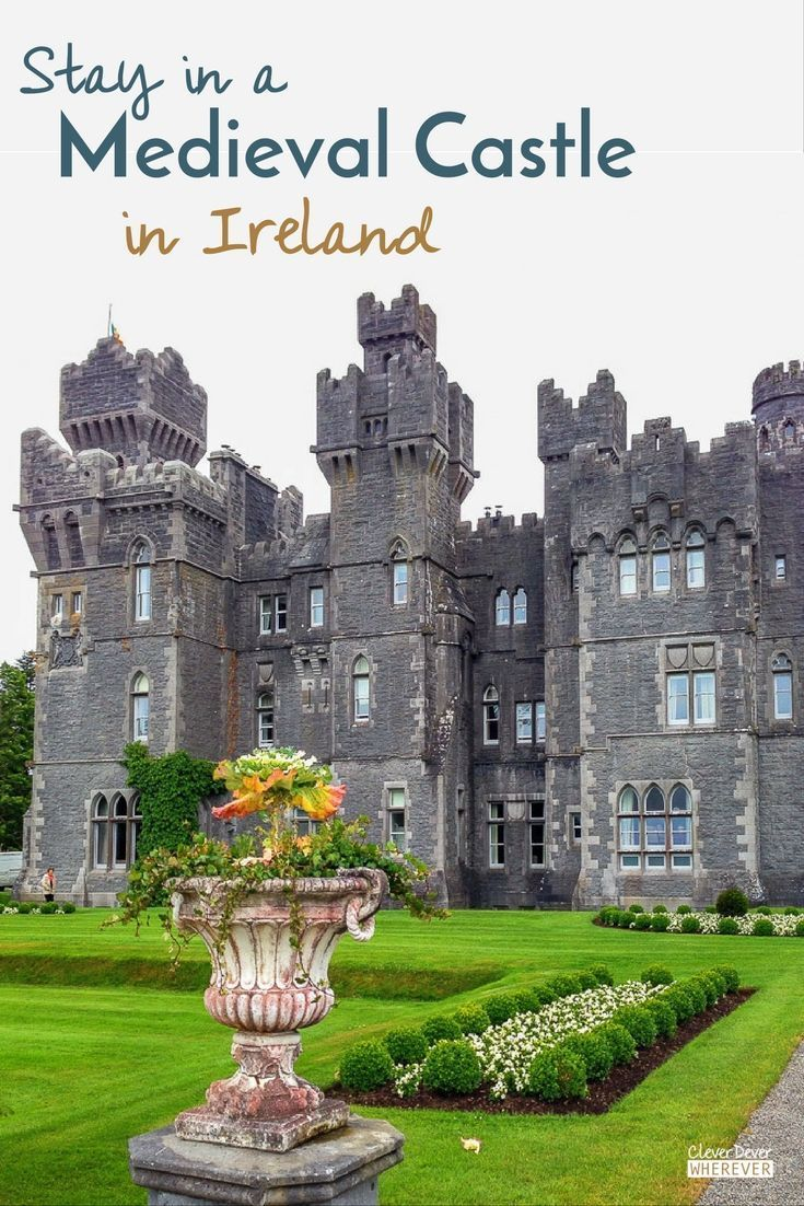 Stay in a Castle | Travel Ireland | Cong | Ireland | Ashford Castle | Where to Stay in Ireland