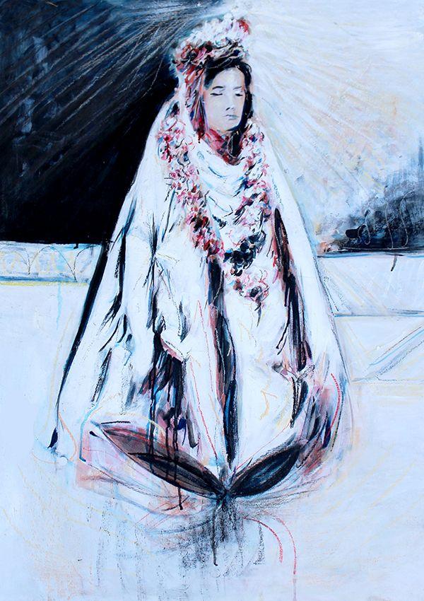 MeditationBuy Paintings Atwww.bluethumb.com.au/alexcarletti