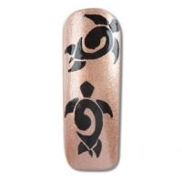 """Nail Art How To: """"Tribal Turtle"""""""