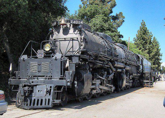 Union Pacific 4014, or UP 4014, is a four-cylinder articulated 4-8-8-4 Big Boy-type steam locomotive owned by Union Pacific Railroad. 4014 was retired from service on July 21, 1959 and donated to the Railway & Locomotive Historical Society in Pomona on December 1961. The locomotive reached its destination in January 1962 and was displayed in Fairplex until November 2013. Union Pacific 4014 is currently in Union Pacific's Steam Shop in Cheyenne, Wyoming, undergoing extensive restoration work…