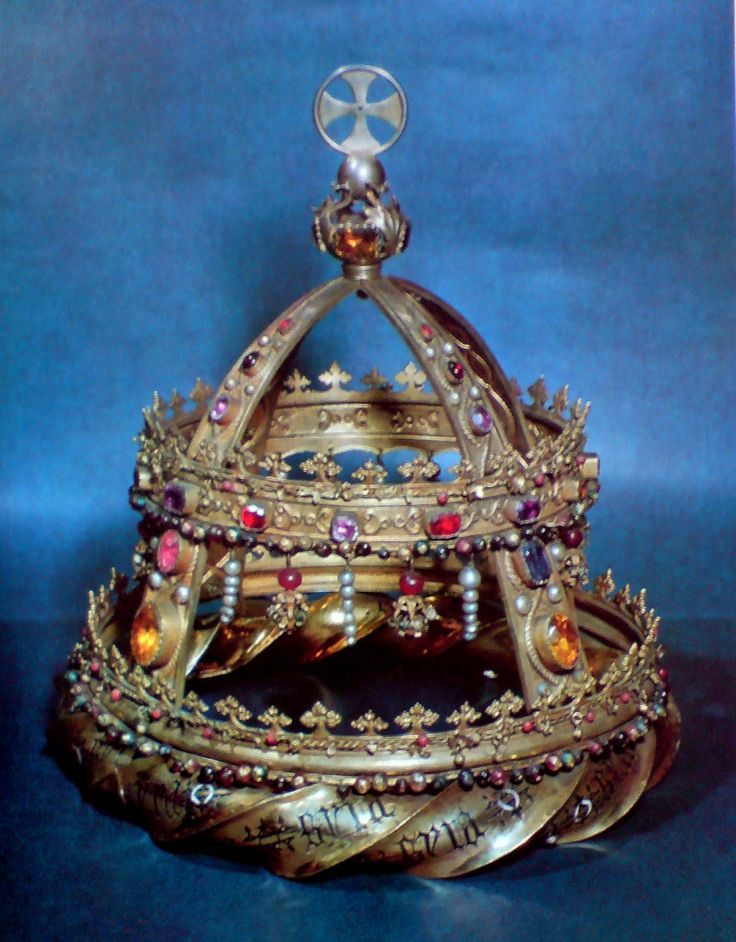 Official and Historic Crowns of the World and their Location Crown of King Martin of Sicily and Aragon