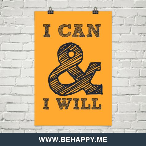 I can & I will. #quites #motivation