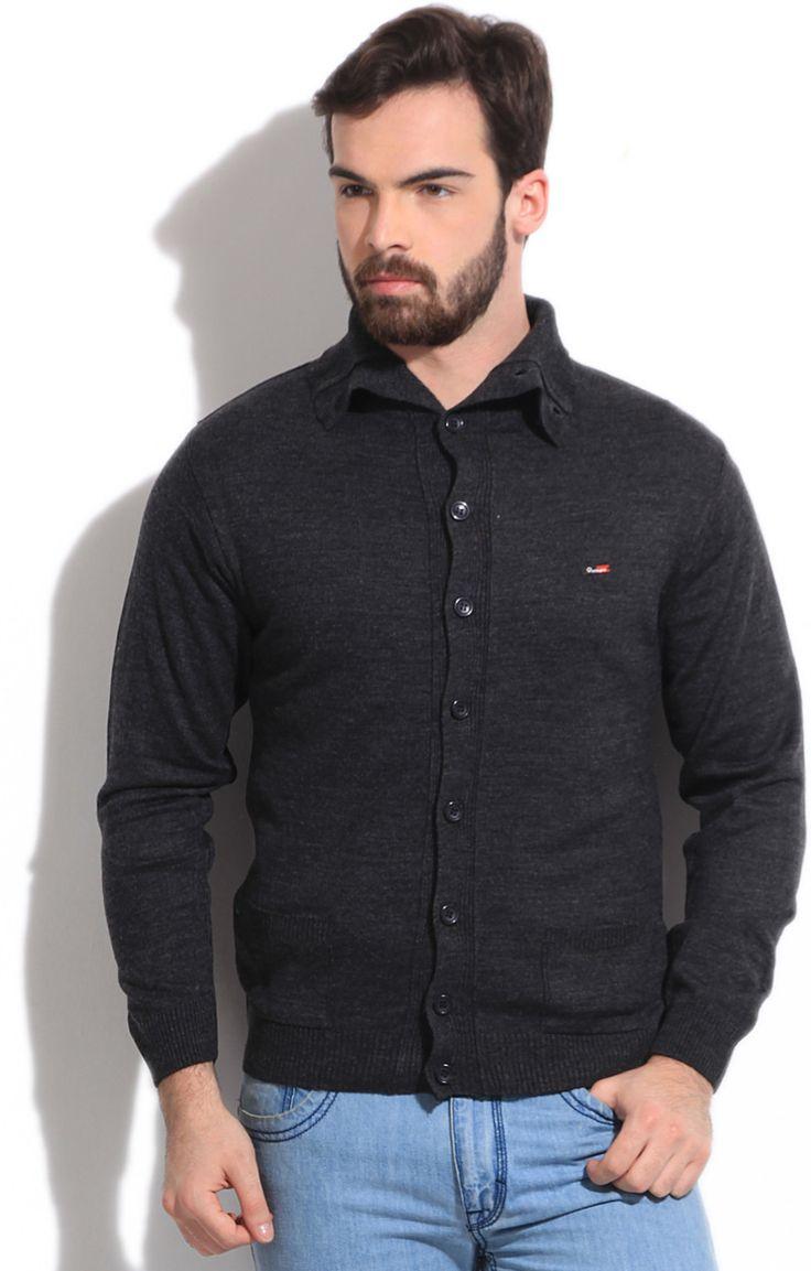Integriti Solid Round Neck Casual Men's Sweater  #winter #jackets #checkered #fashion #integritifashion