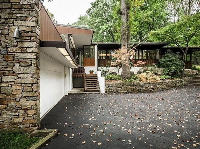 509 best MidCentury Homes images on Pinterest Mid century house