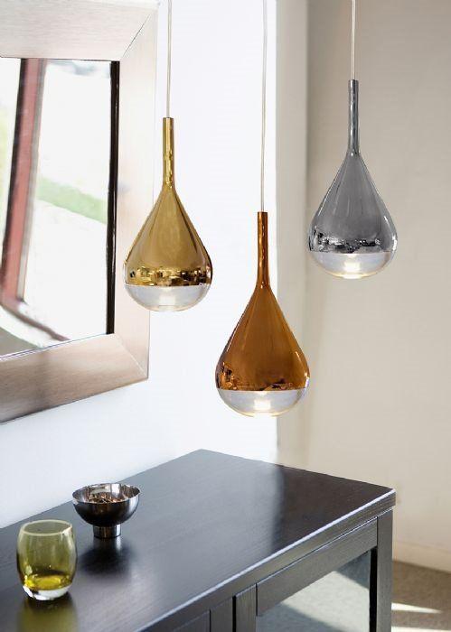 Belid T1440 Pianto Glaspendel Guld