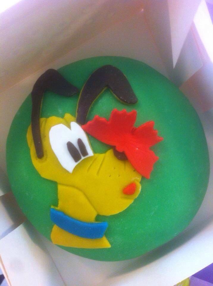 Goofy taart, Pluto taart