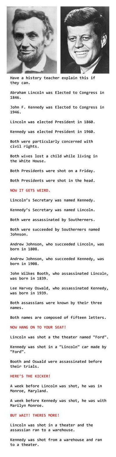 Mind blowing coincidences.... this isn't really that funny, but I didn't know what other board to pin it too. lol