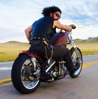 Paul Cox riding his Berzerker | Chopper | Pinterest